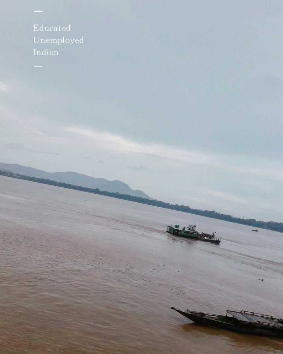 River Brahmaputa, photography, boat