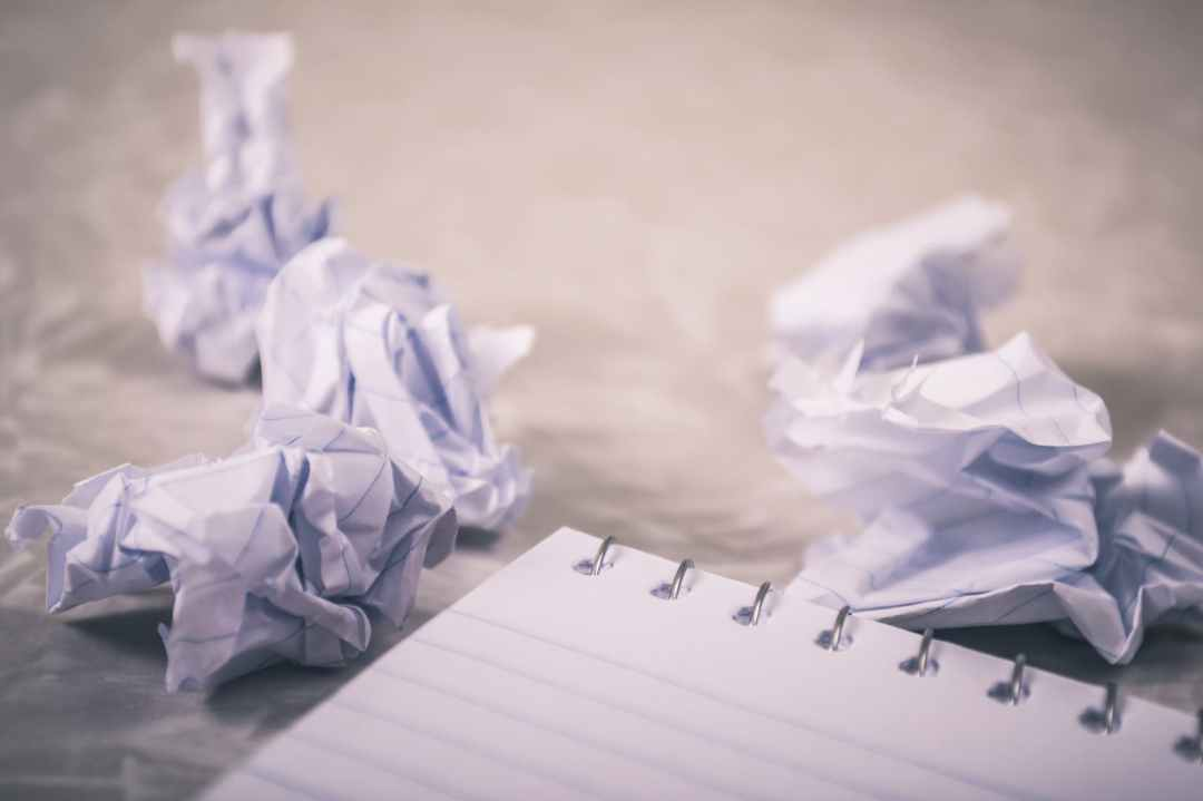 Self defeat, article, writing, rejection