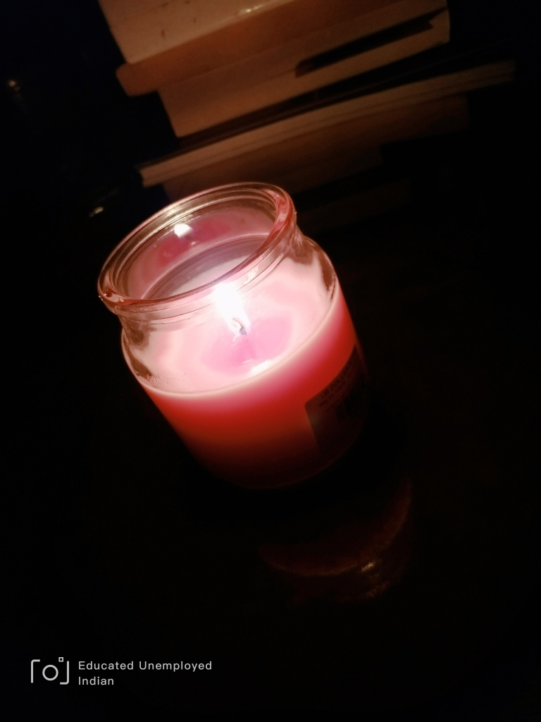 Candle, light, photo, mobile photography