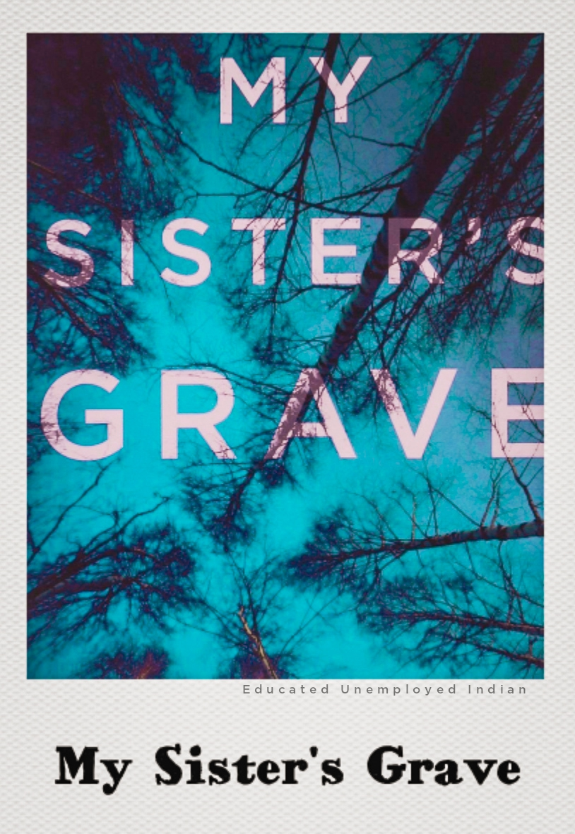 My sister's grave, Amazon's bestselling book in fiction
