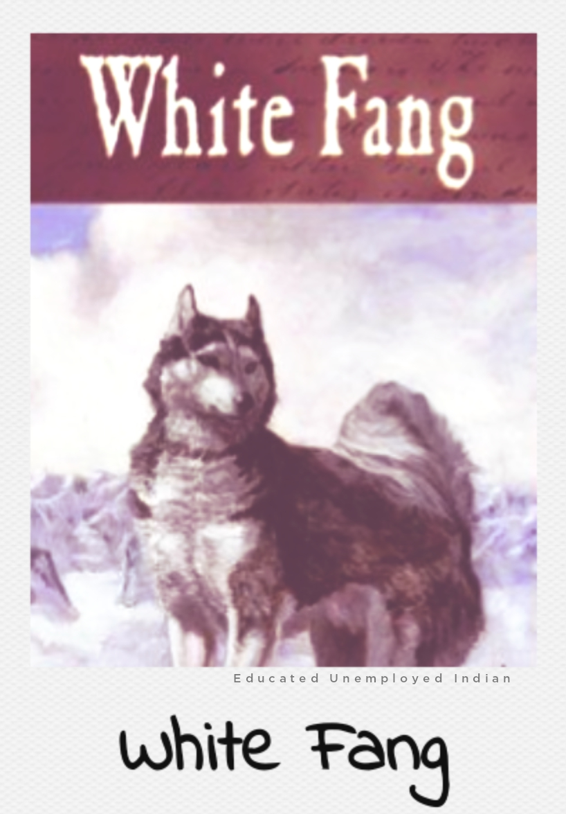White fang, Amazon's bestseller in fiction book
