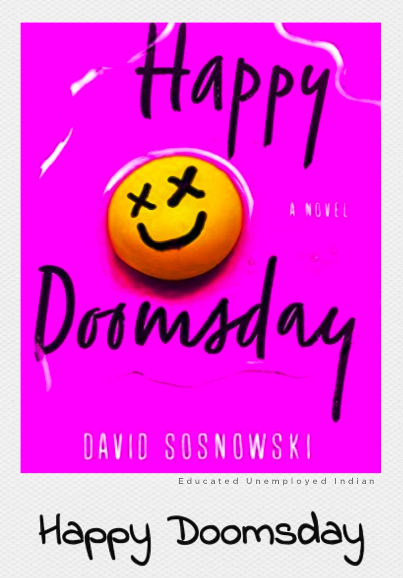 Happy doomsday, fiction books, bestselling book