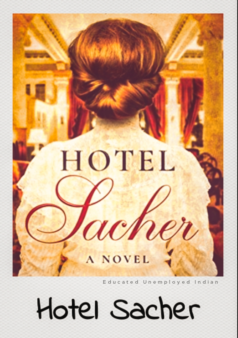 Hotel sacher, fiction book