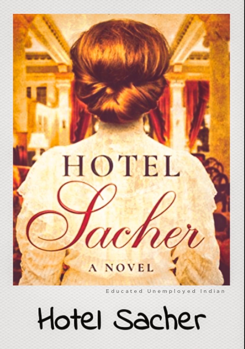 Hotel sacher, fiction book
