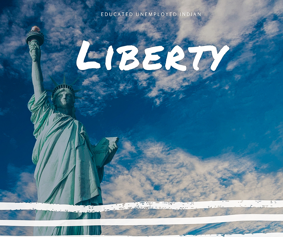Free, liberty, word, word of the day