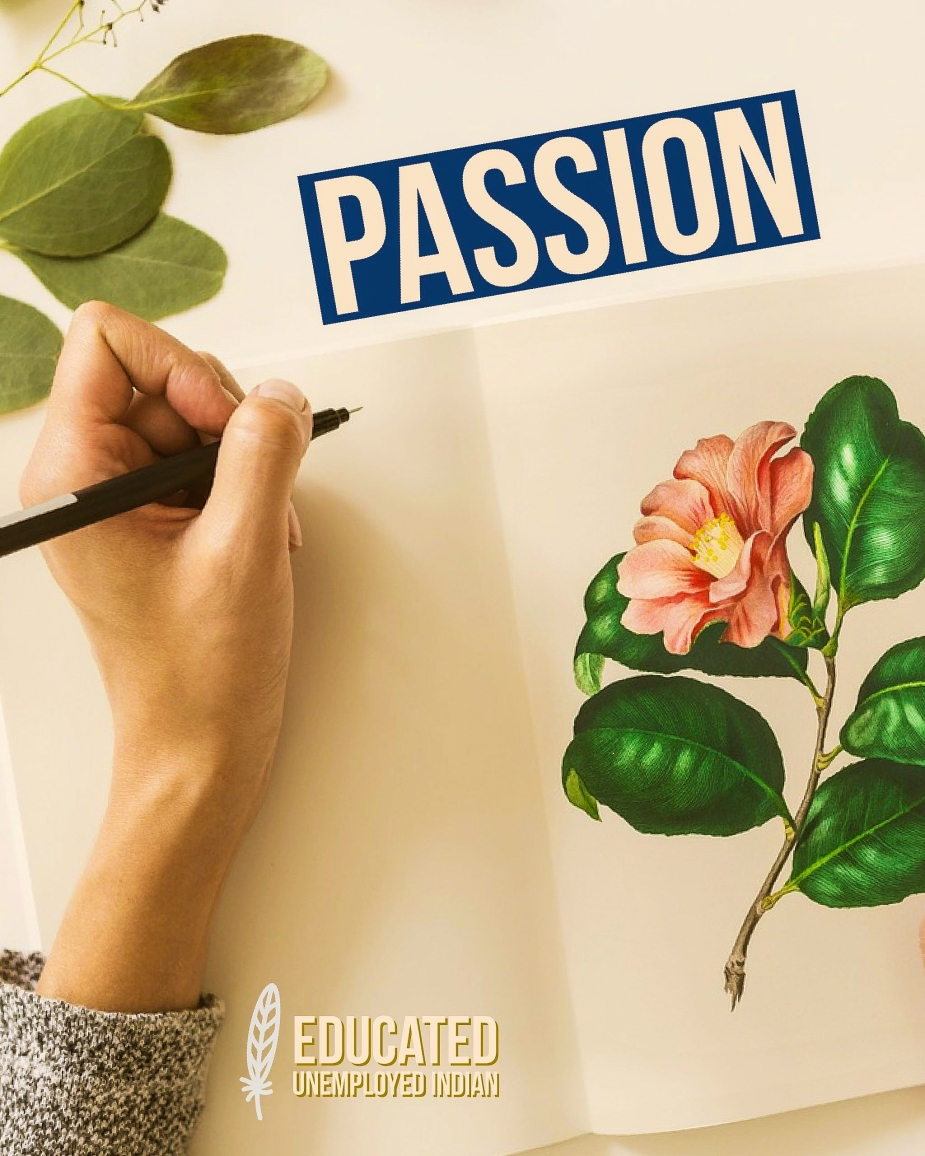 Passion, word of the day