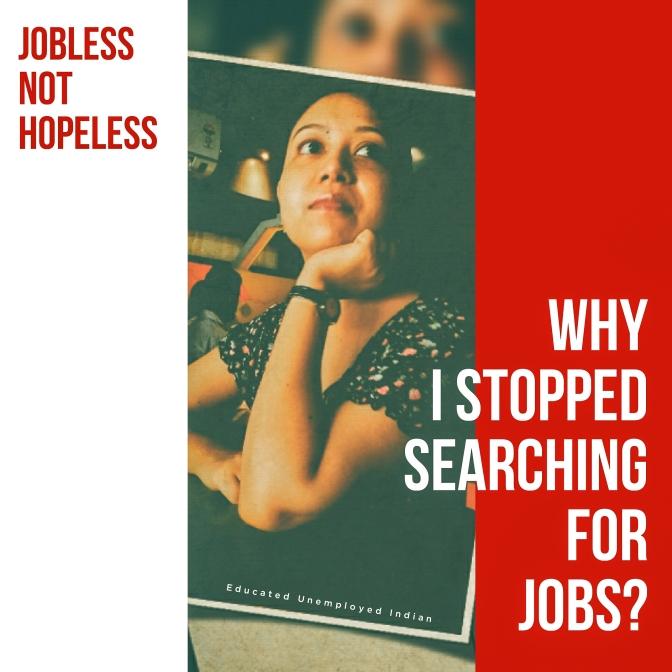 Job, unemployed, jobless not hopeless