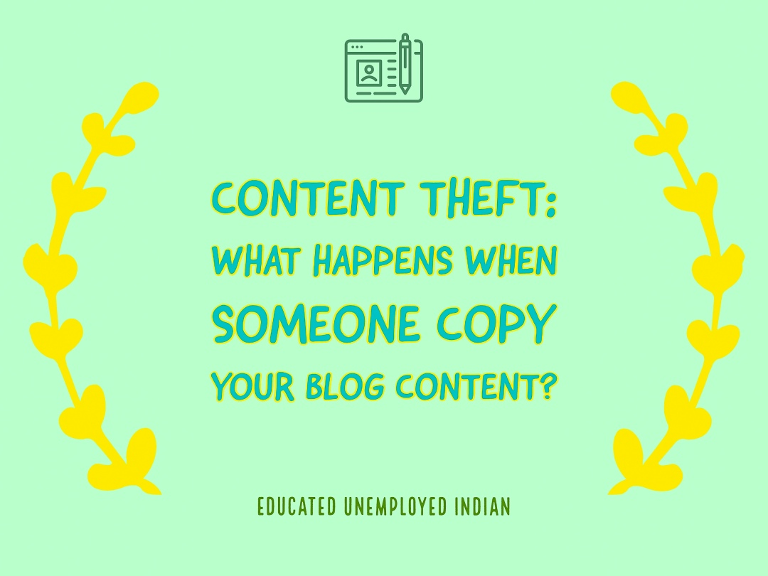 Content theft, content copying