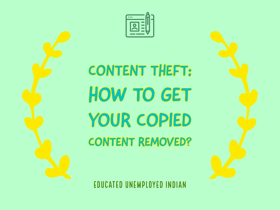 Content theft, copied content
