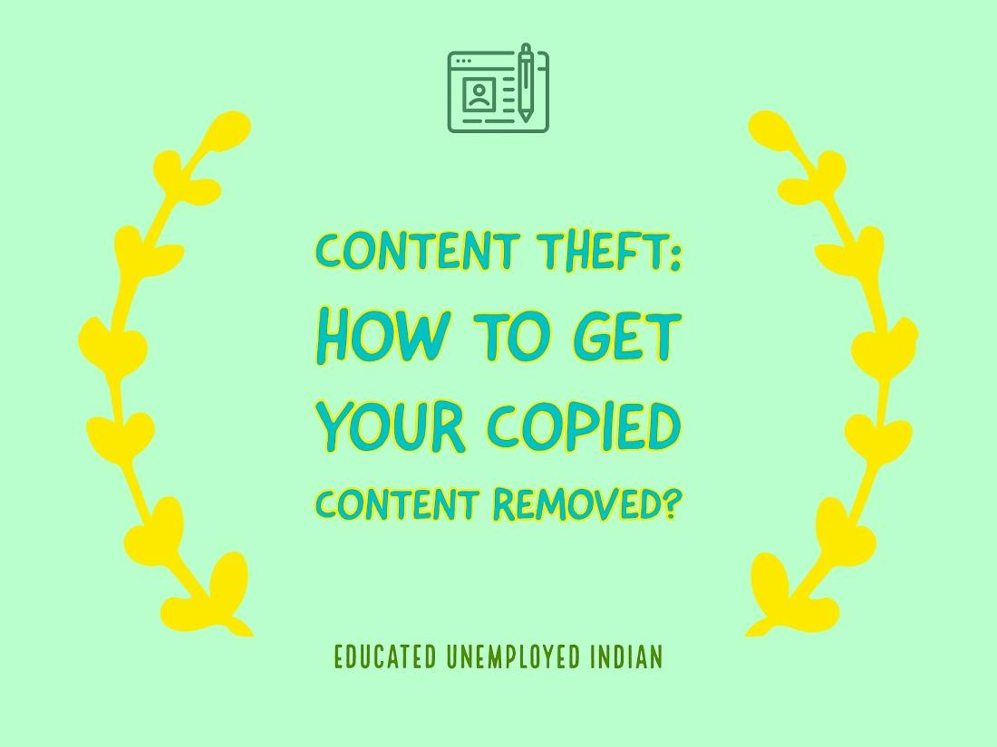 Content theft, copied content