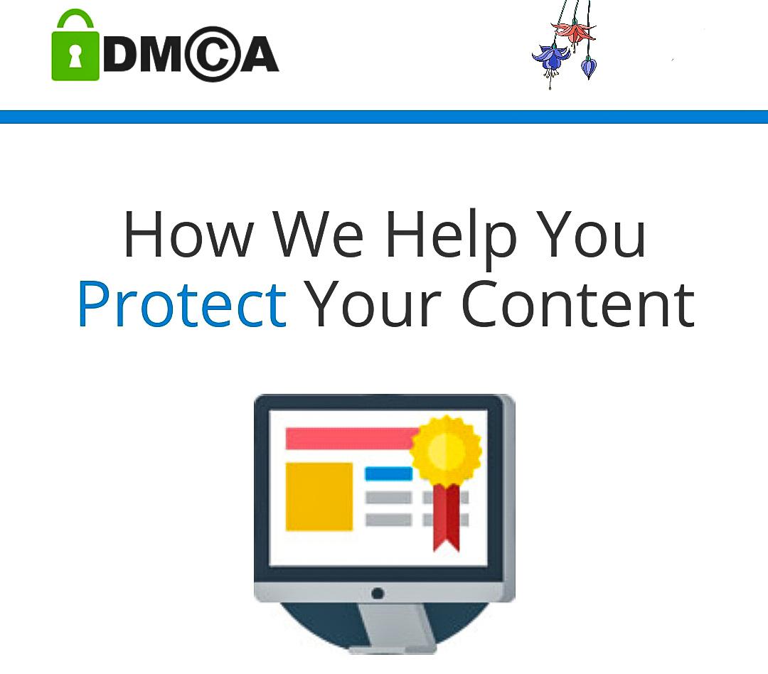 prevent content theft, DMCA