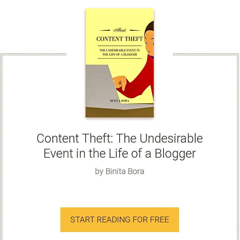 Content theft ebook