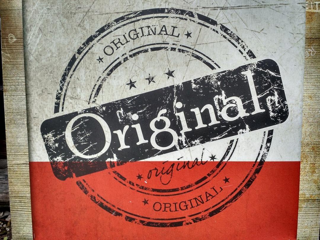 Watermark, original content