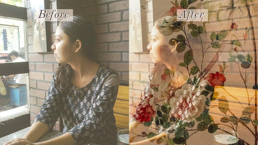 Vintage photo editing