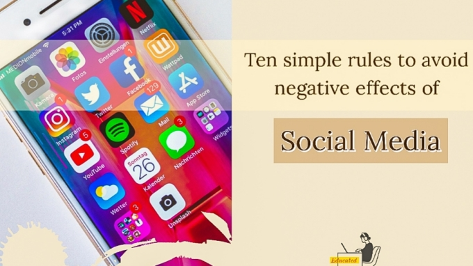 Ten rules for social media