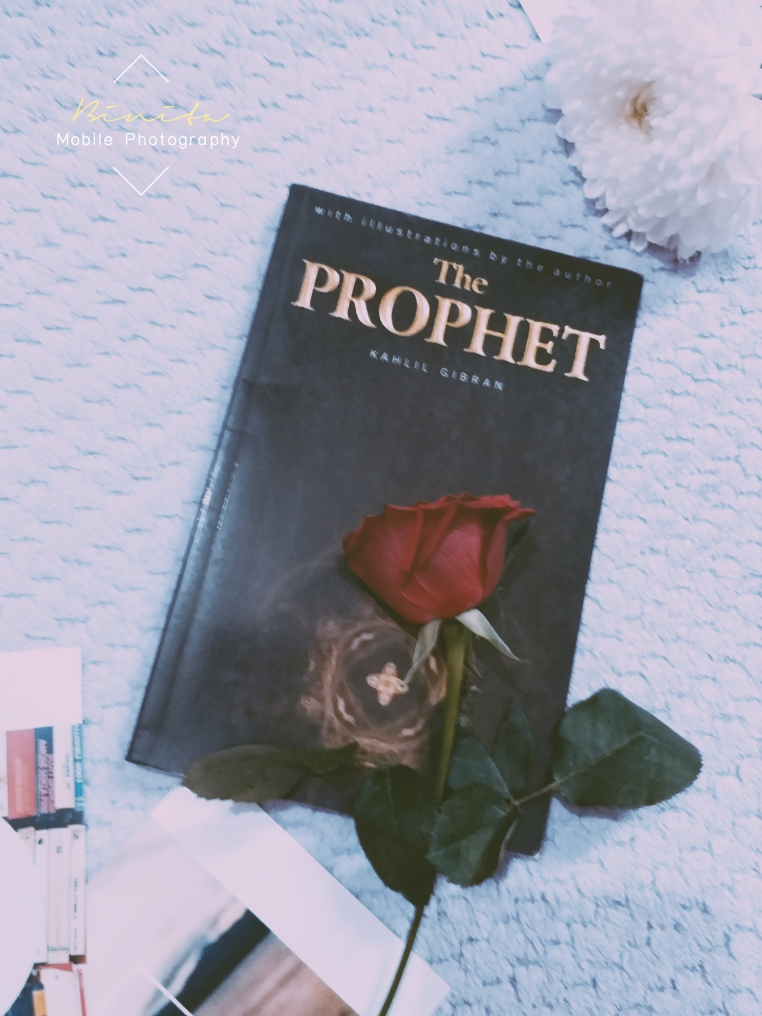 Book photo, the prophet