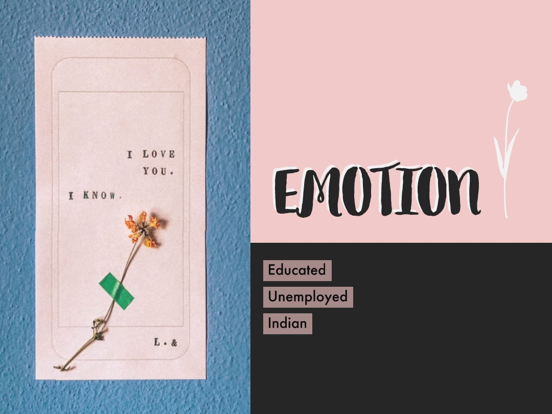 Word of the day, emotion