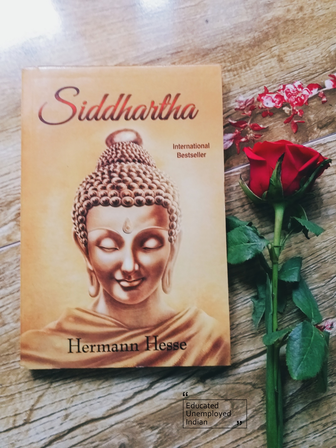 book photography, siddartha