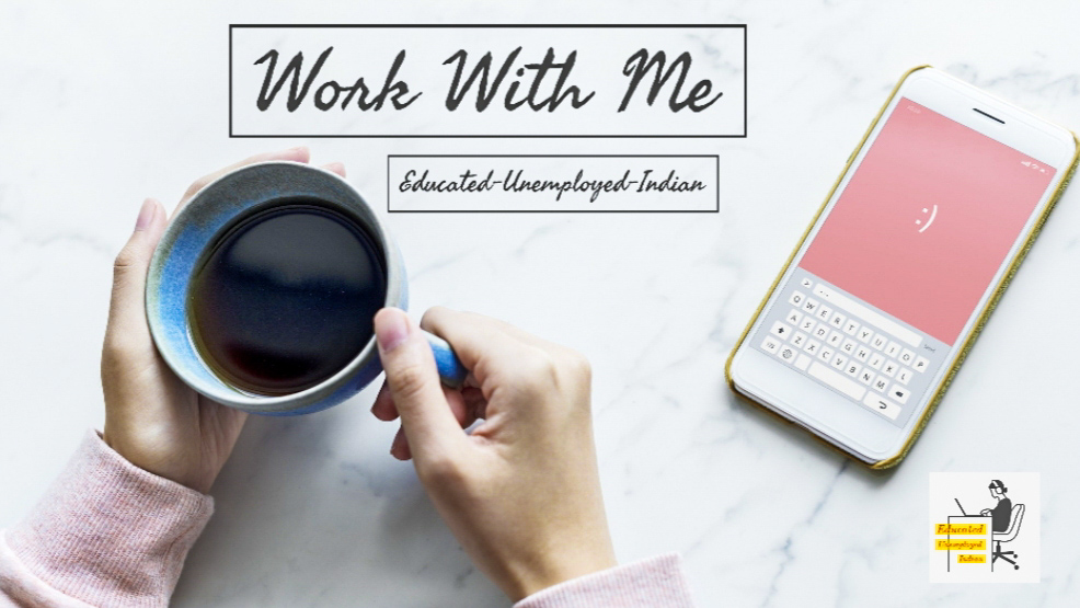 work with me, blogging services